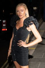 Clara Paget Seen at British Vogue and Tiffany & Co celebrate Fashion and Film at the Londoner Hotel in Leicester Square