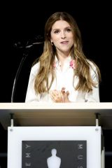 Anna Kendrick At Academy Museum Opening Press Conference in LA