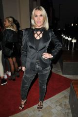 Jo O'Meara At 'Rock Of Ages' first night VIP performance, New Wimbledon Theatre, London