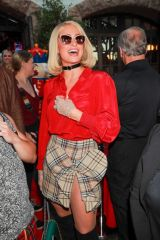 Paris, Nicky and Katy Hilton were hosts of the 16 annual Christmas in September charity event at the Abbey