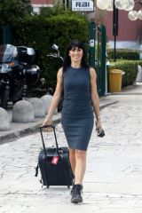 Sara Di Vaira Arriving at rehearsals for 'Dancing With The Stars 16' in Rome