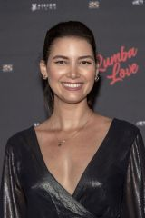 Abril Schreiber At Film Premiere 'Rumba Love' at The Landmark Theater in Los Angeles