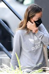 Olivia Wilde Spotted on a Starbucks run in Los Angeles