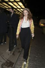 """Lily Cole Leaving the """"She Will"""" UK Premiere - 65th BFI London Film Festival at Curzon Mayfair"""