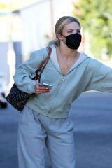 Whitney Carson Seen at the Dancing With The Stars rehearsal studio on Saturday in Los Angeles