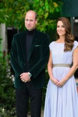 Kate Middleton Attends the Earthshot Prize 2021 at Alexandra Palace in London
