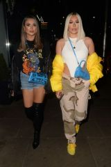 Demi Sims and Frankie Sims hit the town in Kensington
