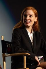 """Jessica Chastain Speaks during the Film Independent screening of """"The Eyes Of Tammy Faye"""" in Los Angeles"""