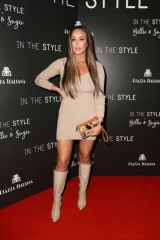 Charlotte Crosby At In Style Launch Party at Piazza Italiano in London