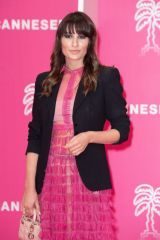 Carlotta Rubaltelli Attends the Closing Ceremony during the 4th Edition of the Cannes International Series