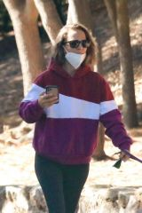 Natalie Portman and Max Minghella enjoy a hike together in Los Angeles