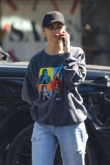 Lala Kent Is spotted having lunch in Bel Air