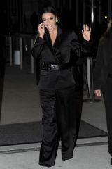 Eva Longoria Looks stunning in black as she attends the Women in Hollywood event in Los Angeles