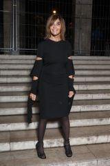 """Carine Roitfeld Pictured at the Anne Imhof exhibition """"Natures Mortes"""" in partnership with Burberry at the Palais de Tokyo in Paris"""