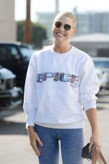 Amanda Kloots Supports Mel C at the dance studio on Tuesday in Los Angeles