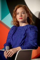 Jane Levy At Advertising Week Conference in NY