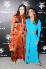 Scout Willis & Eva Longoria At gallery viewing presented by Casa Del Sol Tequila in West Hollywood