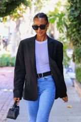 Jasmine Tookes Puts on a super chic display while out shopping in West Hollywood