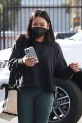 Sunisa 'Suni' Lee Arrives for rehearsals at the Dancing With The Stars studio in Los Angeles