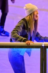 Lila Grace Moss & Olivia Bentley Hit up the Natural History Museum Skate Launch in London