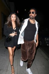 Shay Mitchell Pictured arriving at Drake's Birthday Party in Los Angeles