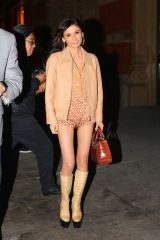 Julia Haart Spotted leaving Zero Bond after attending Candice Swanepoel's birthday party in New York