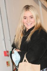 Elizabeth 'Tilly' Matilda Ramsay Seen exiting Strictly's 'It Takes Two' Studios in London