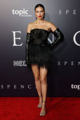 Adriana Lima Attending the premiere of Spencer in Los Angeles