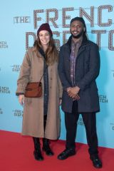 Audrey Pirault At The French Dispatch Premiere at the UGC Cine Cite Bercy in Paris