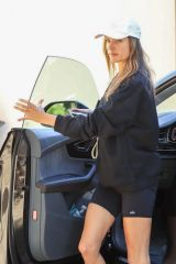 Alessandra Ambrosio Arrives for her morning workout in West Hollywood