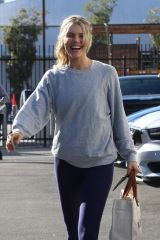 Amanda Kloots Seen at the DWTS studio on Tuesday to start another week on Dancing with the Stars in Los Angeles