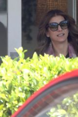 Kate Walsh Is seen at a hairdresser in Perth, Western Australia