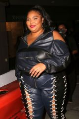 Lizzo Steps out for dinner at Craig's in West Hollywood