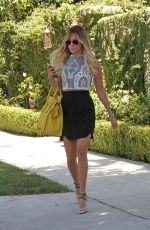 ASHLEY TISDALE in Short Sirt