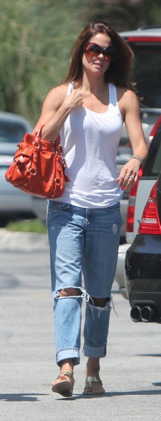 BROOKE BURKE - Out and About in Malibu