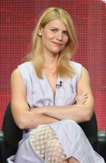 Claire Danes At The Homeland Panel 2013 Summer TCA Tour