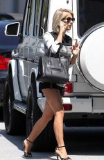 Julianne Hough Out In Century City