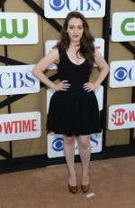 Kat Dennings At The CBS Showtime 2013