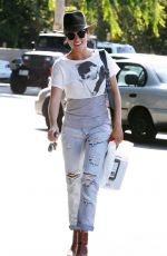 Nikki Reed Out In Shopping