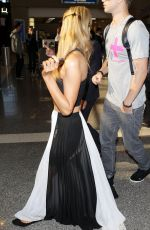 Paris Hilton At The Los Angeles International Airport