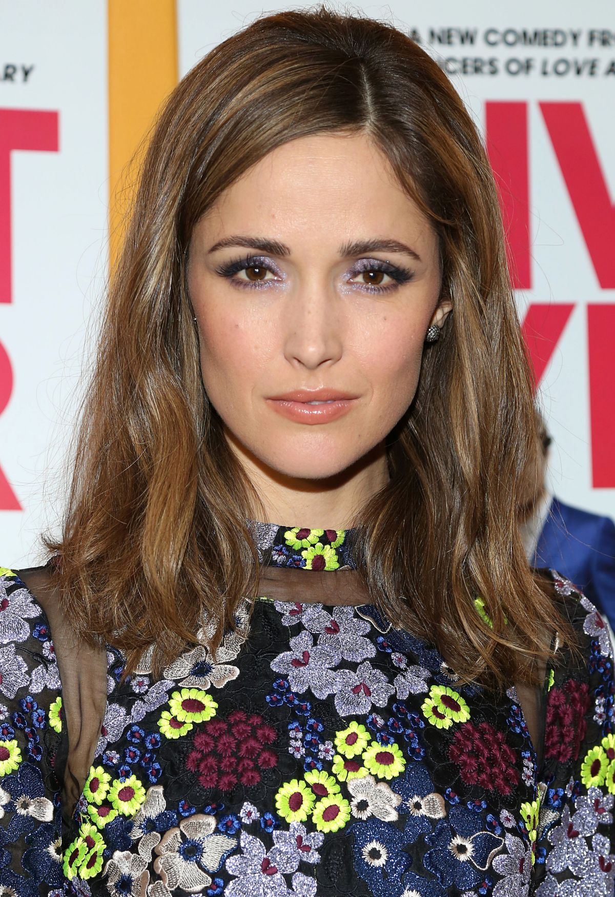 Rose Byrne At The I give it a year Screening