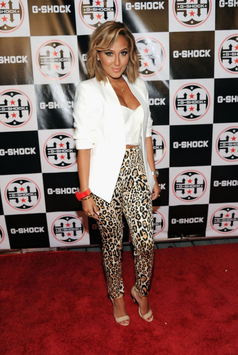 Adrienne Bailon At G-Shock The World In NYC