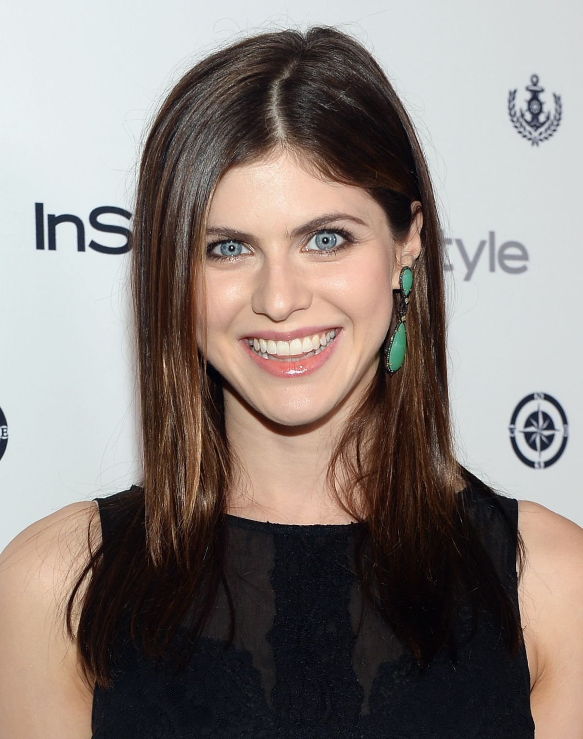 Alexandra Daddario At Instyle Summer Soiree In West Hollywood