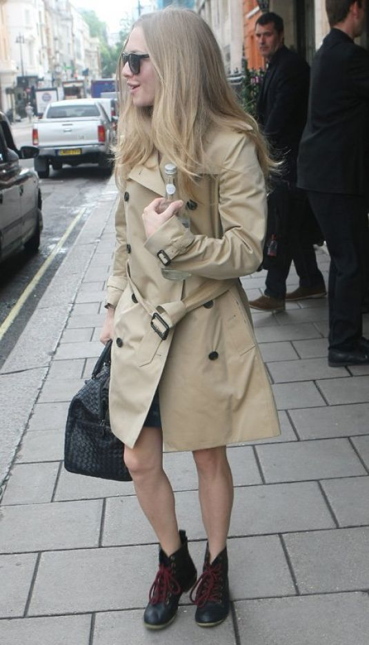 Amanda Seyfried Out In London