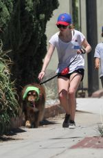Amanda Seyfried Out With Finn In LA