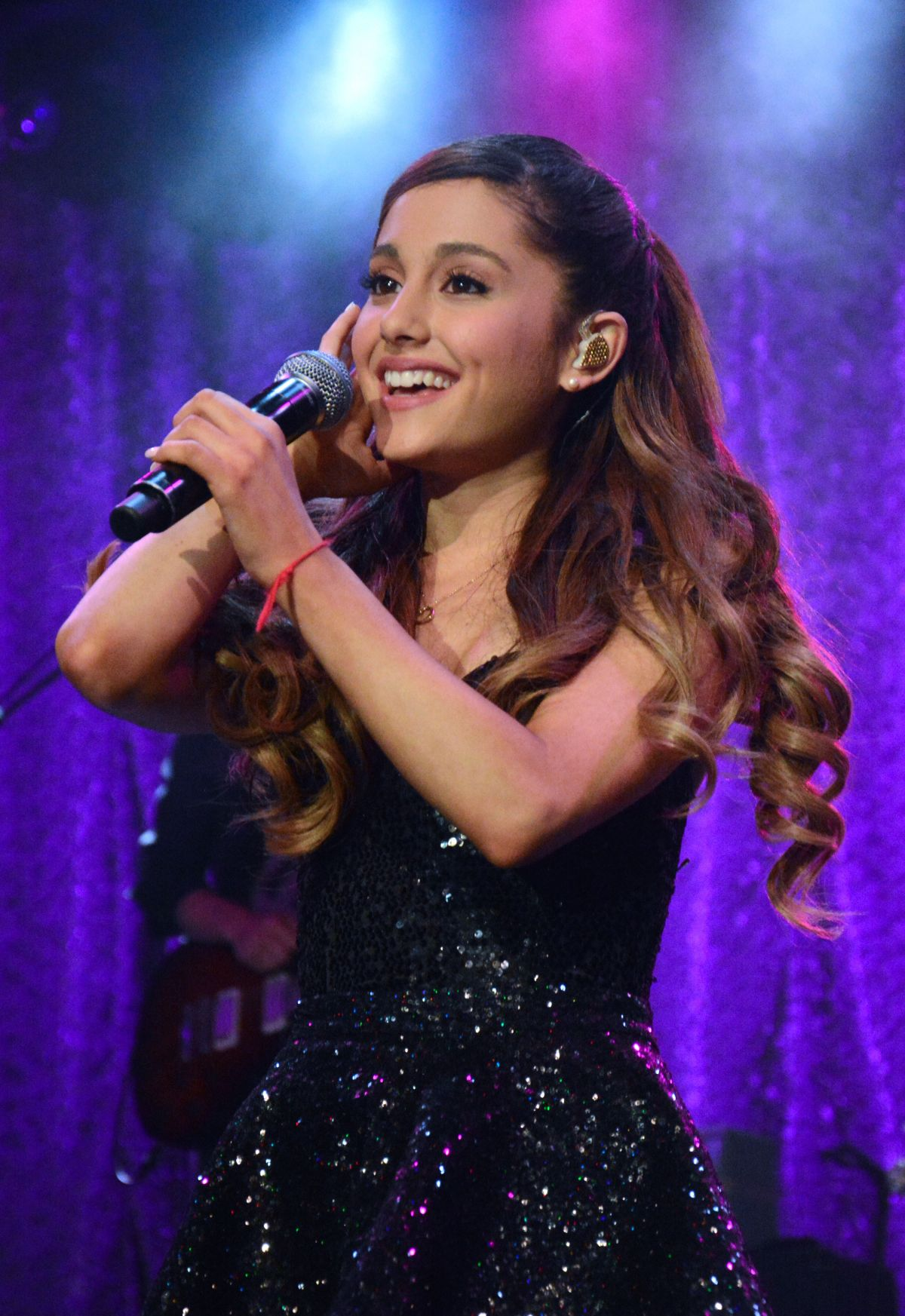 Ariana Grande Performing In NYC