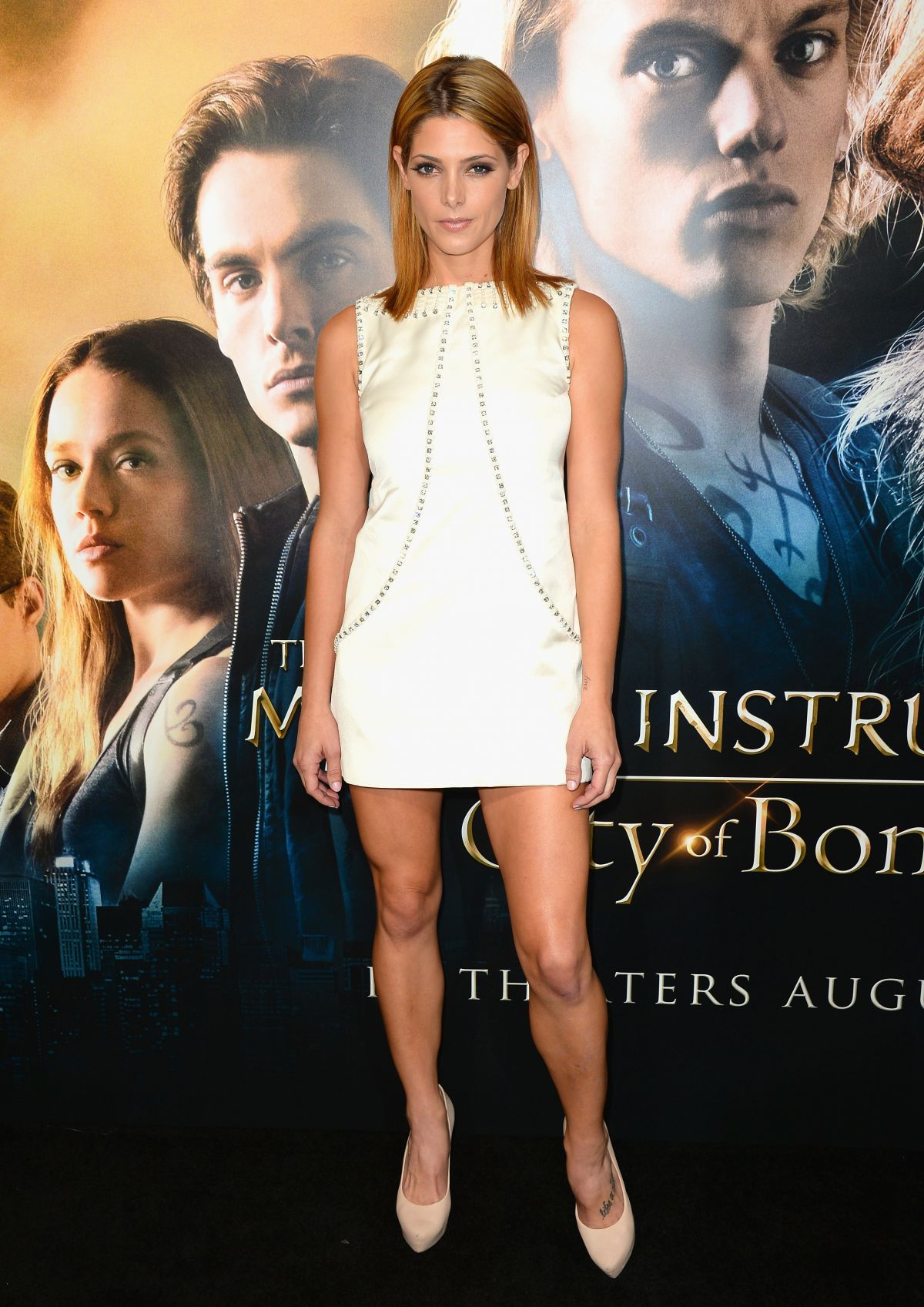 Ashley Greene At The Mortal Instruments City Of Bones Premiere In Hollywood