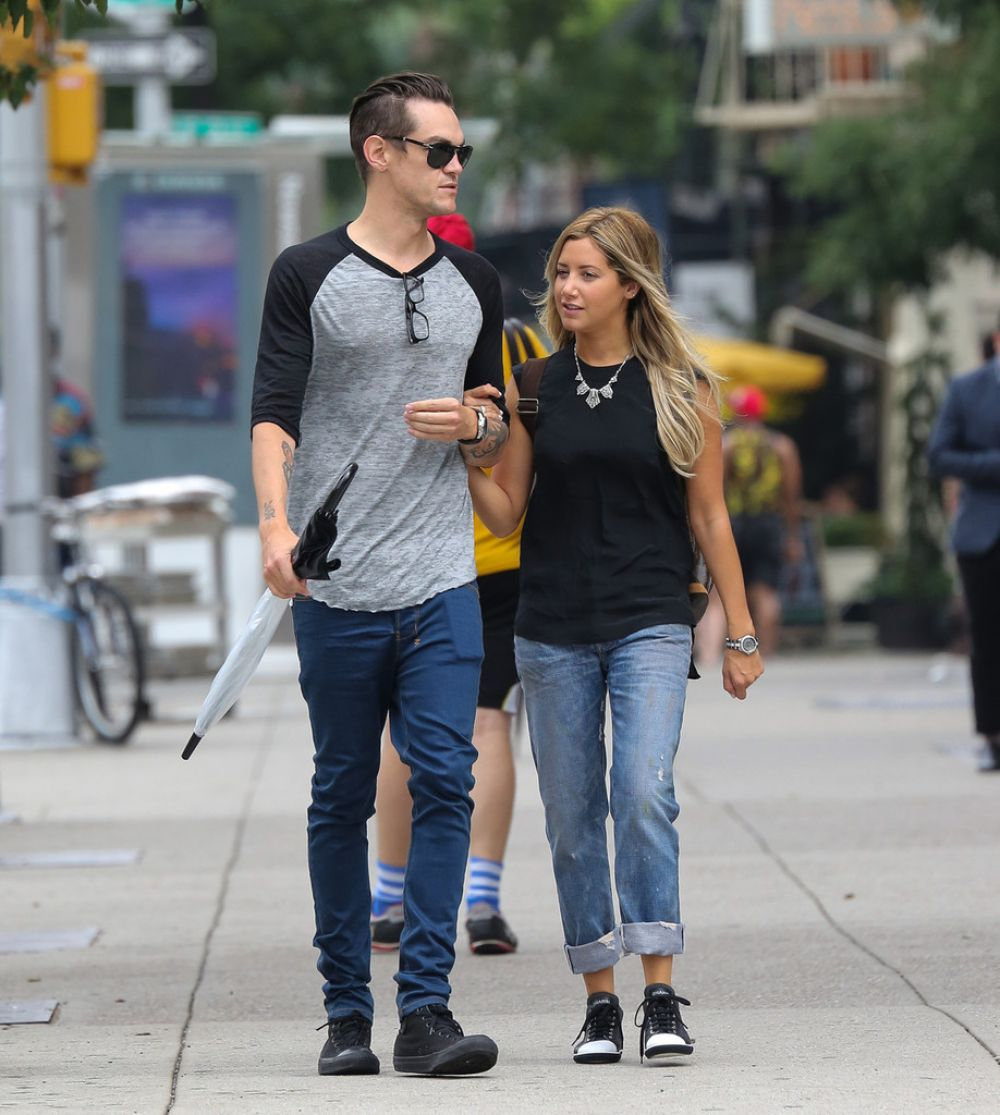 Ashley Tisdale Out In NYC