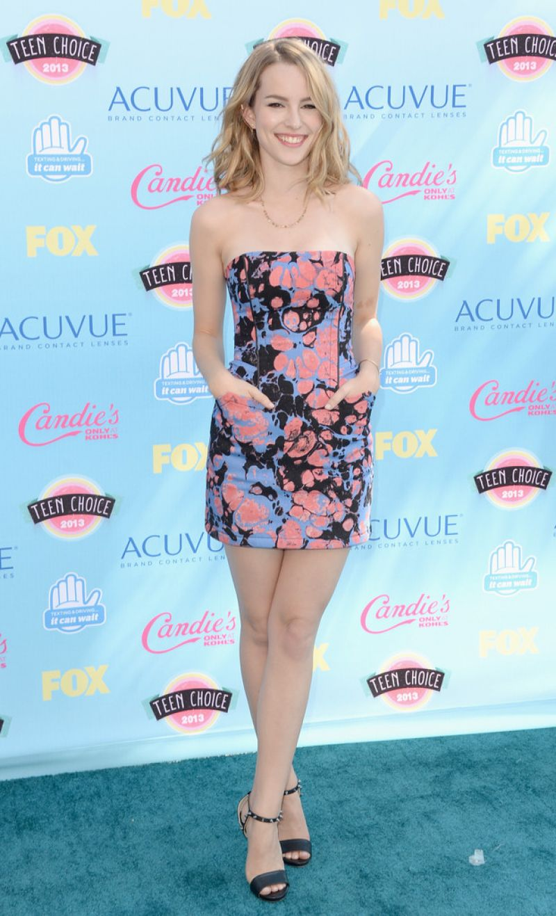 Bridgit Mendler At 2013 Teen Choice Awards In Universal City