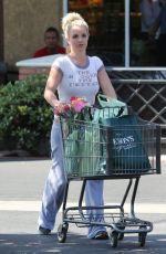 Britney Spears At Gelson